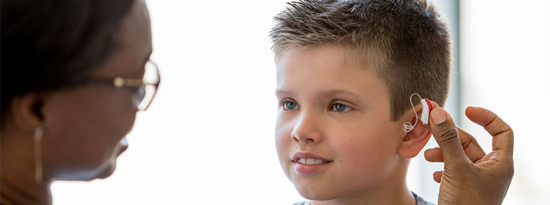 hearing aids for children in Syracuse NY
